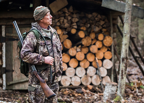 Man at Commercial Hunting Lodges